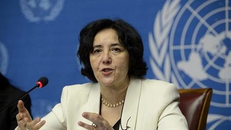 la représentante spéciale du secrétaire général et patronne de la Mission des Nations unies au Congo (Monusco), Leila Zerrougui.
