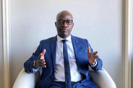 L'ancien ministre ivoirien de la Jeunesse, Charles Blé Goudé