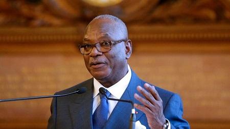 Le président malien Ibrahim Boubacar Keïta a rencontré les représentants de sa majorité (image d'illustration)