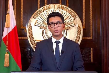 Le président de la République de Madagascar, Andry Rajoelina