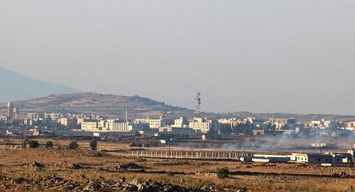 Golan syrien occupée par l'État hébreu depuis 1967.© REUTERS / Alaa Al-Faqir