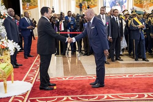 Cérémonie de présentation des vœux de Nouvel An 2019 au Président Paul Biya