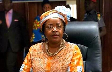 Minette Libom Li Likeng, ministre camerounaise des postes et des télécommunications,