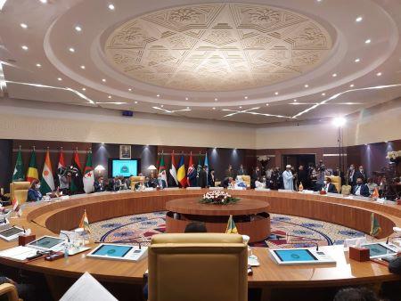 Réunion ministérielle pour la Libye et les pays voisins à Alger pour évoquer la situation politique . Photo : A24monde / RSA