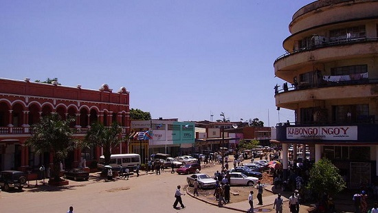 Centre de Lubumbashi en RDC. © Photo: Oasisk; source: Wikipédia