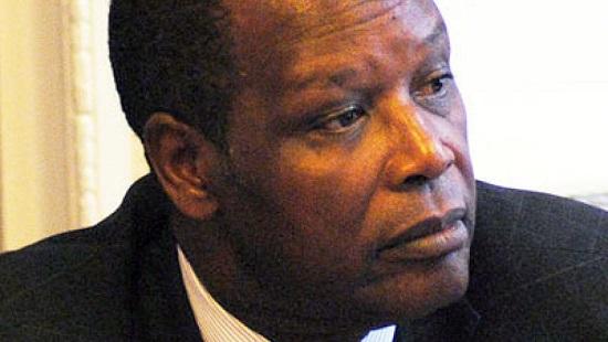 L'ancien chef de l'Etat burundais Pierre Buyoya fait l'objet d'un mandat d'arrêt émis par la justice de son pays. © Chatham House/Wikimedia.org