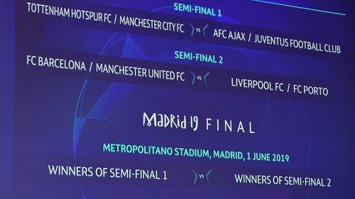 Le tirage au sort des quarts de finale et des demi-finales de la Champions League a eu lieu vendredi à Nyon.