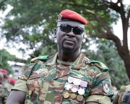 Le lieutenant-colonel Mamady Doumbouya, légionnaire français