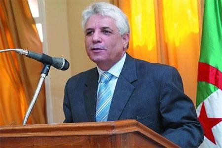 Le ministre algérien de la Justice, LOUH Tayeb, né  17 juillet 1951 à M'sirda (Maghnia)