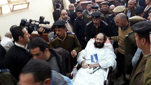 Ramon Rasmi Mansour, l'un des deux accusés, au palais de justice où il a été reconnu coupable, samedi 23 février 2019, de l'assassinat de l'évêque Epiphanius. REUTERS/Ahmed Fahmy