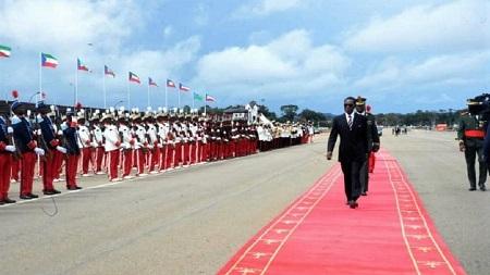 Teodoro Obiang Nguema, 77 ans, chef d'état de la Guinée équatoriale