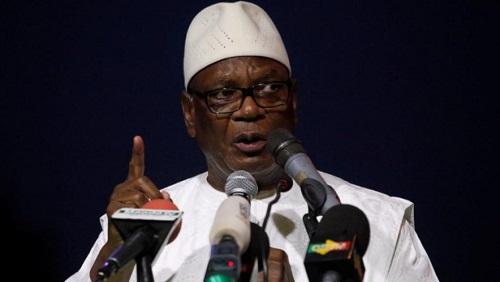 Le président malien, Ibrahim Boubacar Keïta a condamné fermement cette opération. © REUTERS/Luc Gnago