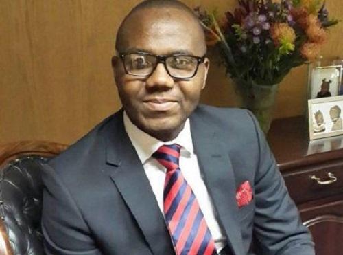 Lance Mambondiani, le président-directeur général de Steward Bank