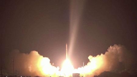Lancement du nouveau satellite espion israélien Ofek 16 le 6 juillet. Reuters