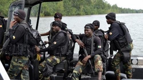 Des soldats camerounais du BIR  dans le Delta