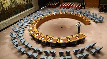 Le Conseil de sécurité de l'ONU à New York a voté à l'unanimité le renouvellement de l'embargo sur les armes mais allégé (image d'illustration). Stephane LEMOUTON / POOL / AFP