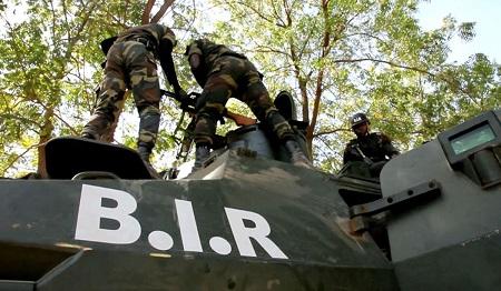 Les BIR militaires de l'armée camerounaise . Photo: illustration