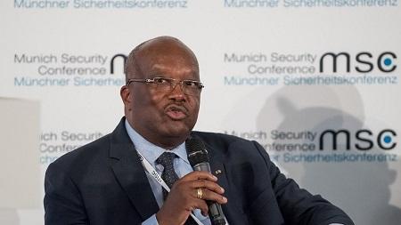 Le président burkinabè Roch Marc Christian Kaboré