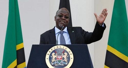 Le président tanzanien, John Magufuli. Photo : DR