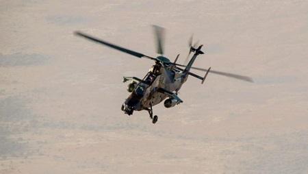 Un hélicoptère Tigre de l'armée française déployé au Mali, février 2019. © Image: État-major des armées