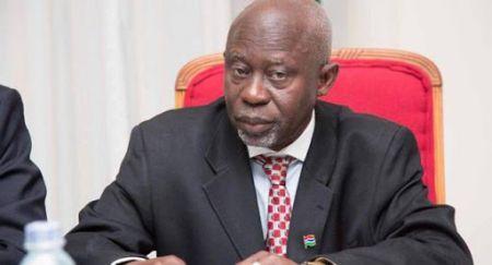 Ousainou Darboe, ancien vice-président de la Gambie (2018-2019) et leader du Parti démocratique unifié (UDP)