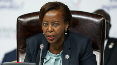 La secrétaire générale de l'OIF Louise Mushikiwabo était en visite en Tunisie il y a quelques jours pour discuter du prochain sommet de la Francophonie (image d'illustration) LUDOVIC MARIN / AFP
