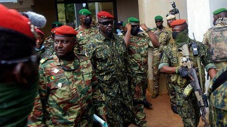 Le lieutenant-colonel Mamady Doumbouya