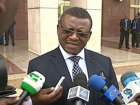 le Premier ministre camerounais, Joseph Dion Ngute