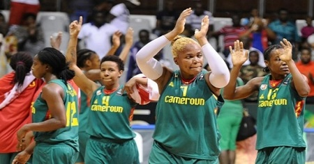 Les Lionnes Indomptables, l'équipe de basket du Cameroun