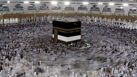 La Kaaba au coeur de la mosquée Masjid al-Haram à La Mecque (illustration). REUTERS/Suhaib Salem