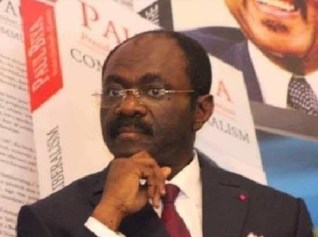 Le ministre des Sports et de l'Education Physique (MINSEP), Narcisse Mouelle Kombi