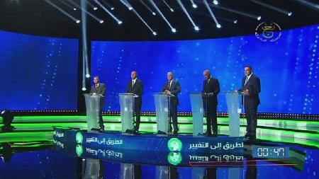 Les cinq candidats à la présidentielle du 12 décembre en Algérie