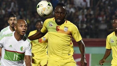 Le Béninois Junior Salomon. RYAD KRAMDI / AFP