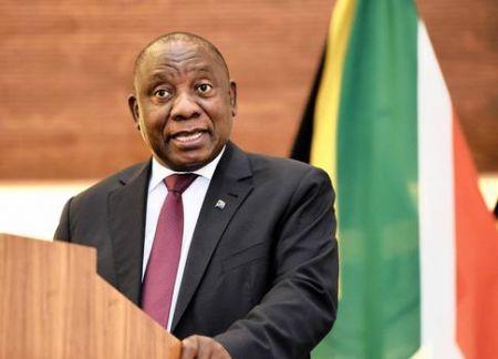 Cyril Ramaphosa, président de la République sud-africaine