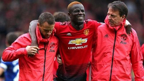 L'international ivoirien  Eric Bailly de Manchester United