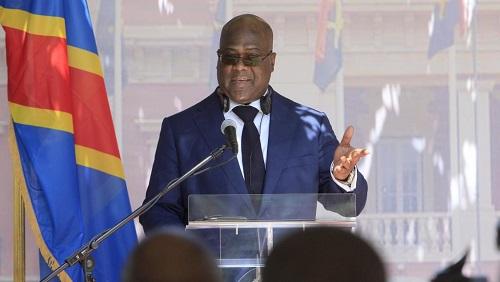 Le gouvernement du président Félix Tshisekedi, ici à Luanda le 5 février 2019, se fait attendre. © Stringer/AFP