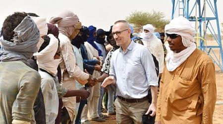 Christophe Sivillon, le désormais ex Chef du bureau de la mission onusienne au Mali