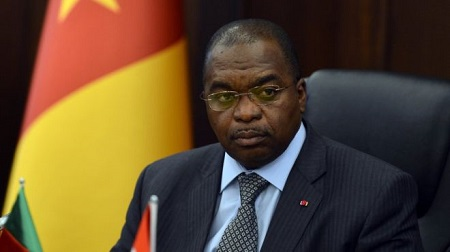 Louis Paul Motaze, le ministre des Finances du Cameroun. GETTY IMAGES