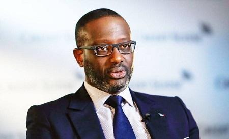 L'ex-directeur général de Crédit Suisse, Tidjane Thiam, nommé PCA de Rwanda Finance Limited