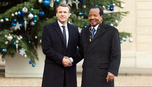 Emmanuel Macron et Paul Biya auront un entretien bilatéral le 10 octobre en milieu de matinée . Photo: Illustration