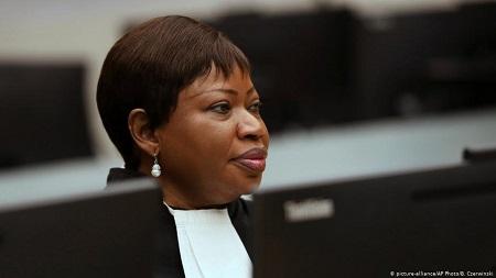 Fatou Bensouda, procureure générale de la Cour pénale internationale, ancienne ministre de la Justice sous Yahya Jammeh