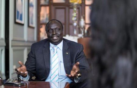 Awow Daniel Chuang, le ministre sud-soudanais du Pétrole