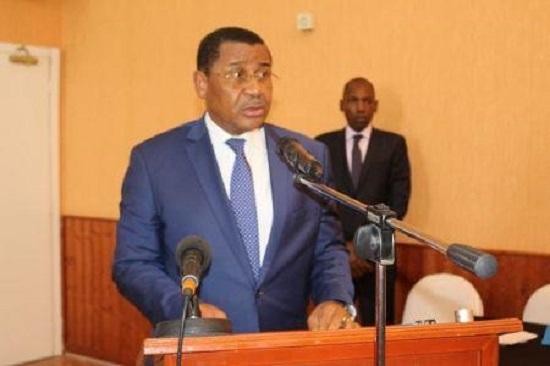 Le président de la Commission de la CEMAC, Daniel Ona Ondo