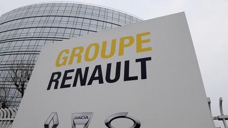 Le siège social de Renault à Boulogne-Billancourt près de Paris. © Photo: Eric Piermont/AFP