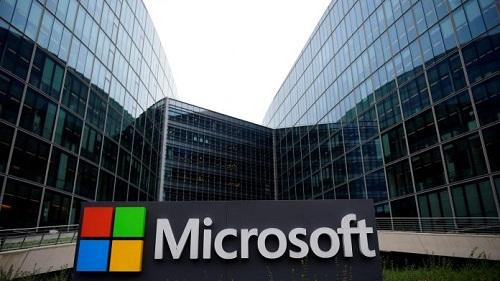 Siège Microsoft, groupe américain d'informatique . Crédit Photo : CNet