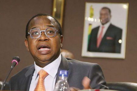 Le ministre des Finances, Mthuli Ncube