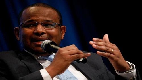 Le ministre malien sortant de l'Economie et des Finances, Boubou Cissé