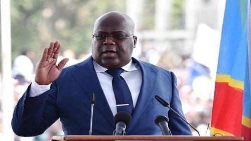 Le président de la République démocratique du Congo, Félix Tshisekedi