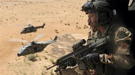 Il va y avoir une extension des troupes d'occupations françaises, depuis le Mali jusqu'au Burkina Faso