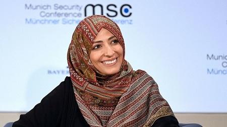 Tawakkol Karman, est une militante yéménite, proche des Frères musulmans (image d'illustration). © Andreas Gebert Source: Reuters